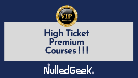 Hight Ticket Courses